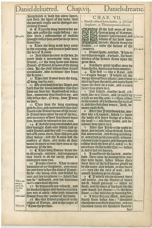 Daniel 6:17b-7:10a - 7:10b-8:5a