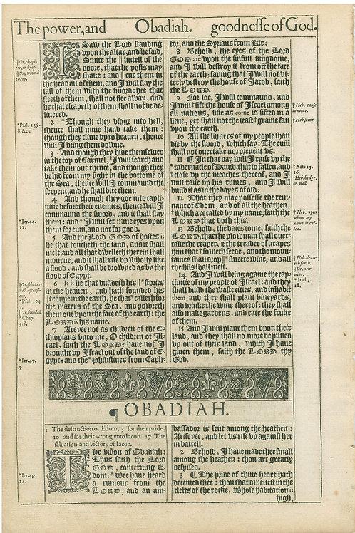 Amos 7:8b-9:1a -9:1b-Obadiah 1:3a Title Page