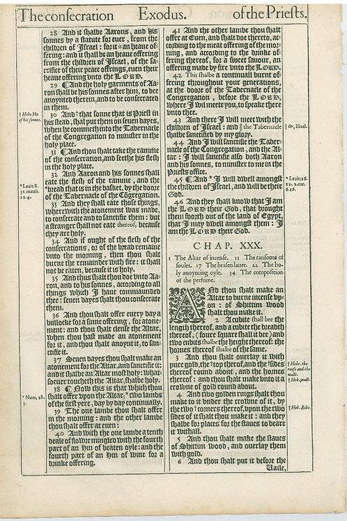 Exodus 29:2b-29:27 - 29:28-30:6a