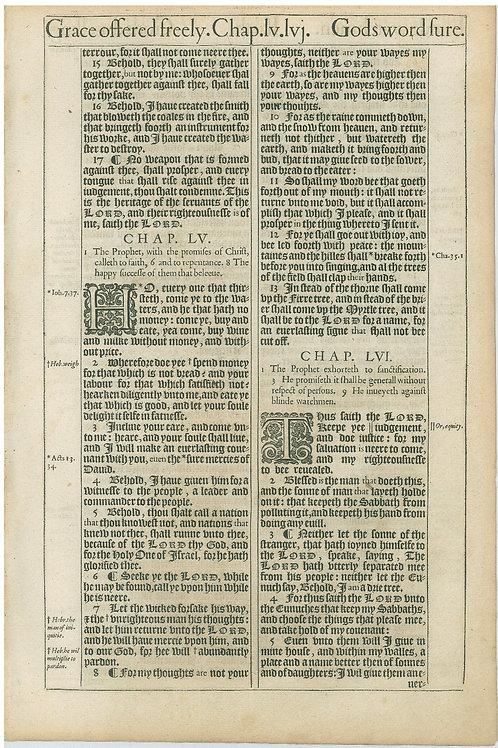 Isaiah 54:14b-56:5a - 56:5b-57:17a