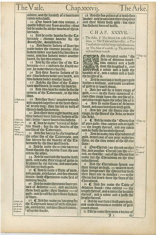 Exodus 36:21b-37:12a - 37:12b-38:9