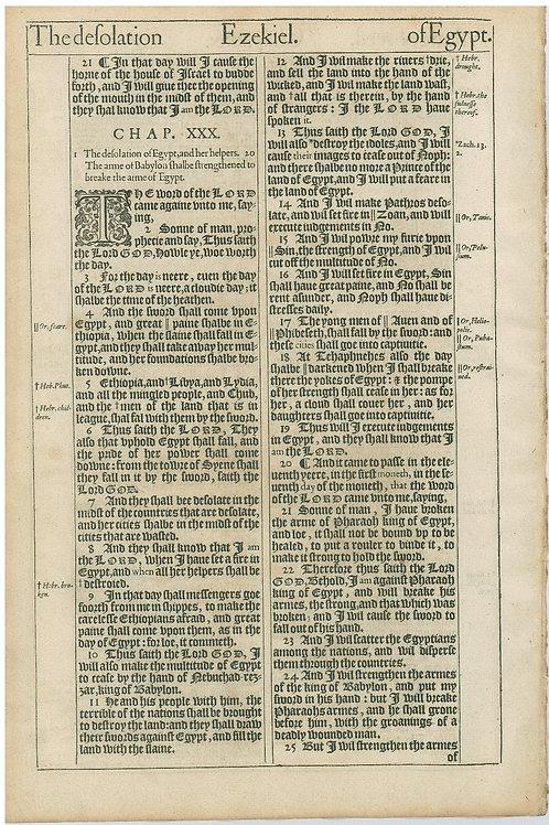 Ezekiel 30:25b-31:18 - 32:1-32:24a