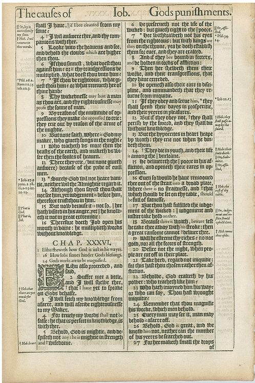 Job 34:5-35:3a - 35:3b-36:27a