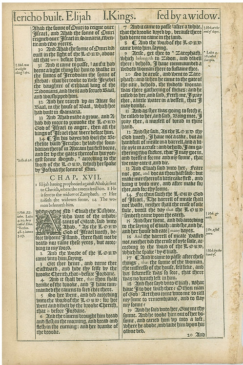1 Kings 16:4-16:29a - 16:29b-17:19
