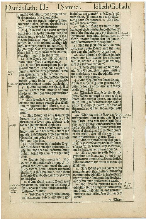 1 Samuel 17:1b-17:26a - 17:26b-17:50
