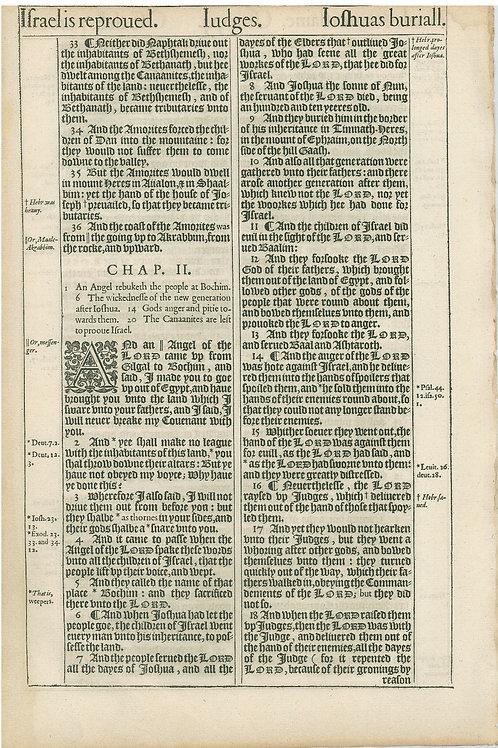 Judges 1:7-1:32 - 1:33-2:18a