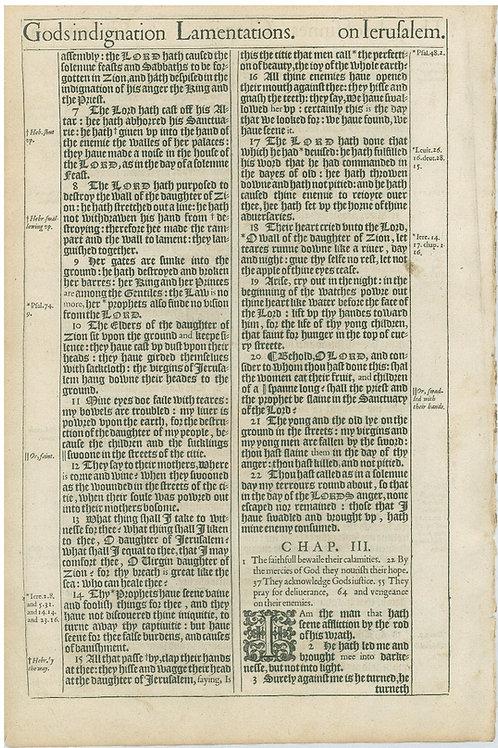 Lamentations 1:8b-2:6a - 2:6b-3:3a