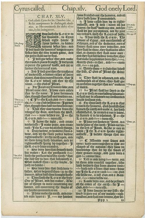Isaiah 45:1-45:23a - 45:23b-47:9