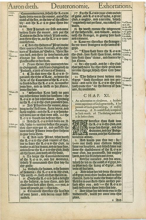 Deuteronomy 9:11b-10:4a - 10:4b-11:5