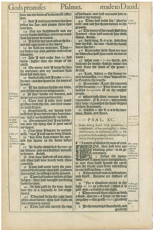 Psalms 88:5b-89:22a - 89:22b-90:6a