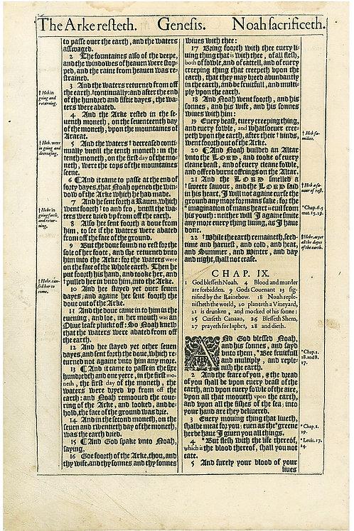Genesis 6:21b-8:1a - 8:1b-9:5a