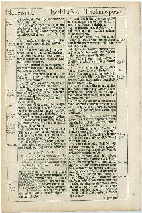 Ecclesiastes 6:1-7:17a - 7:17b-8:15