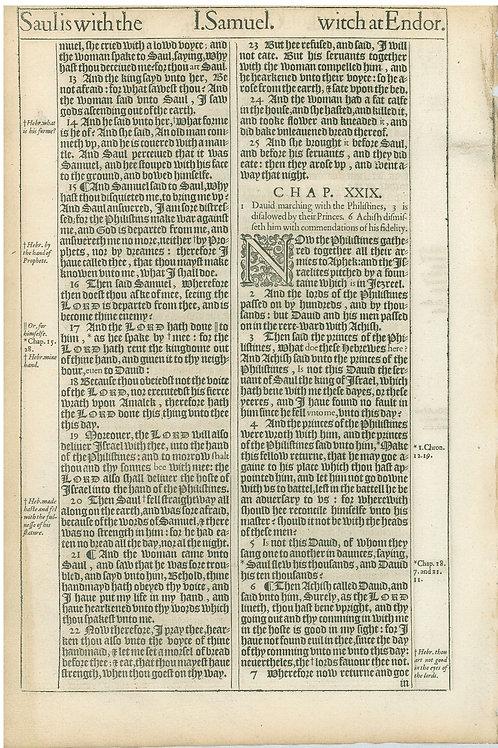 1 Samuel 27:2b-28:12a - 28:12b-29:7a