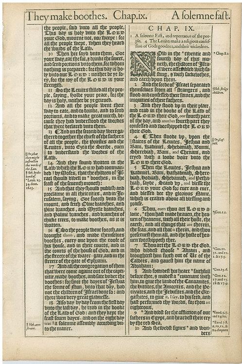 Nehemiah 8:9b-9:10a - 9:10b-9:29