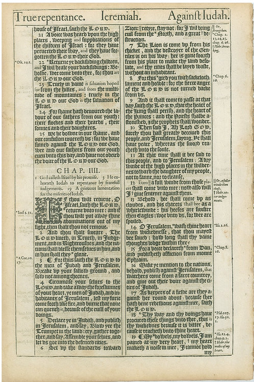 Jeremiah 2:37b-3:20a - 3:20b-4:19a
