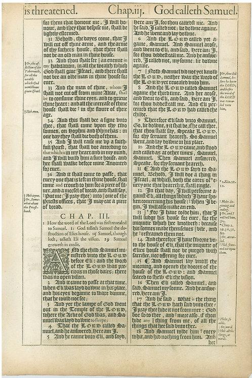 1 Samuel 2:30b-3:18a - 3:18b-4:18