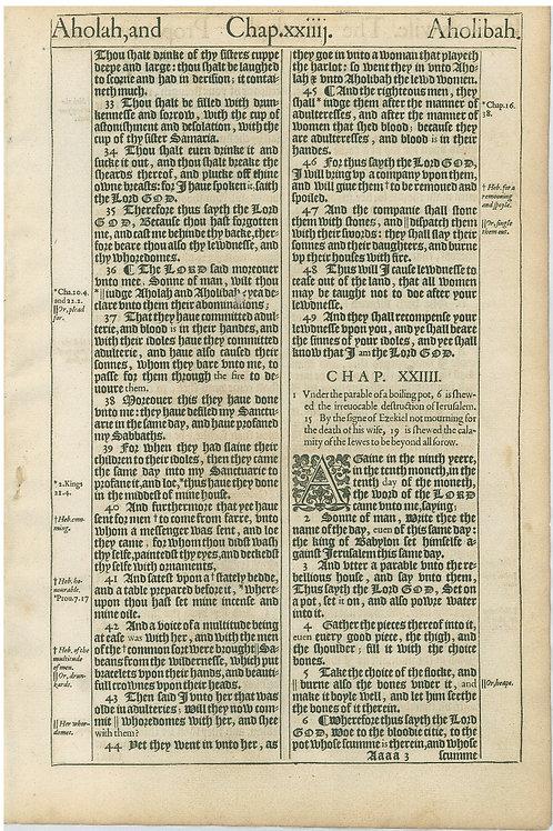 Ezekiel 23:32b-24:6a - 24:6b-25:4a