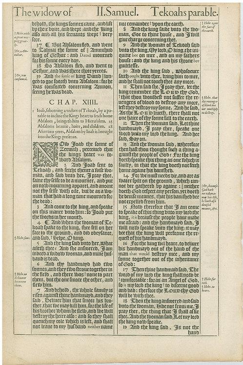 2 Samuel 13:11b-13:36a - 13:36b-14:19a