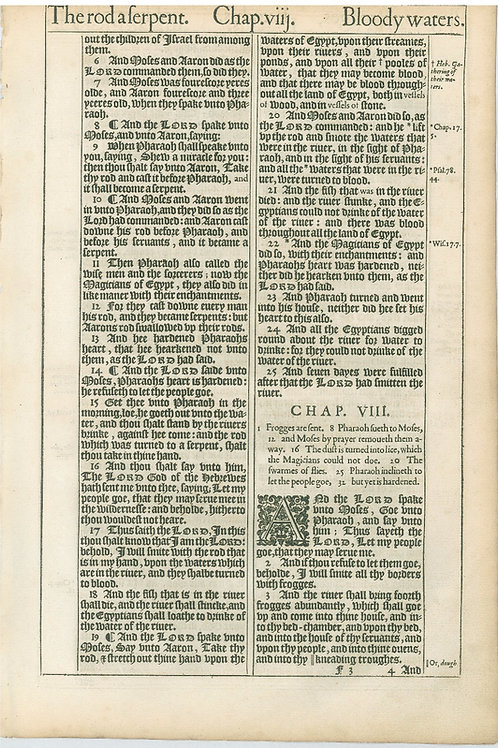 Exodus 7:5b-8:3 - 8:4-8:29a