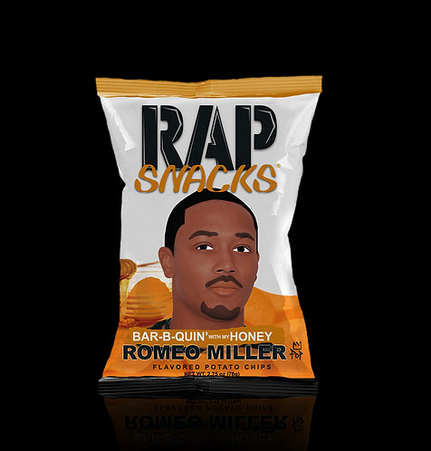Rap Snacks BBQ Honey
