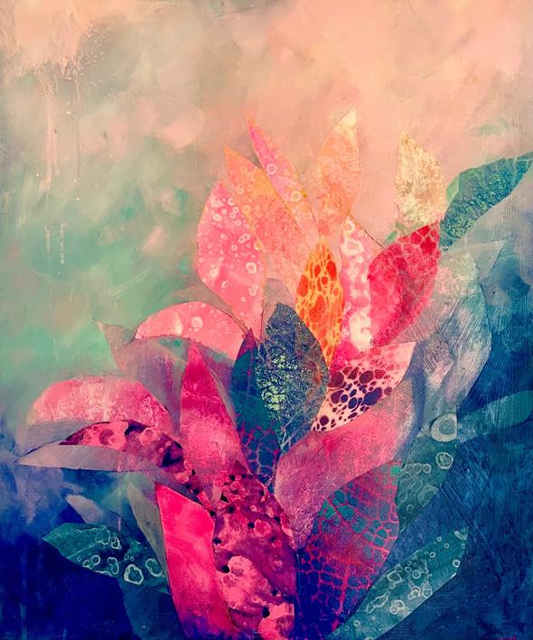 Fairytale flower | Mixed Media