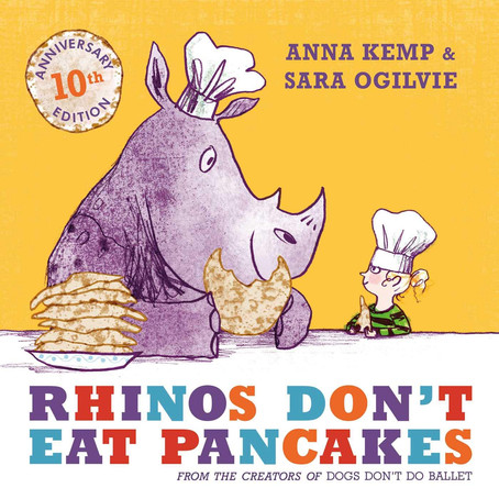 Book of the day: Rhinos Don't Eat Pancakes
