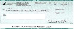 sample claim check