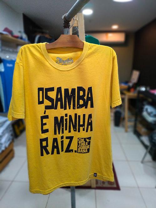 CAMISETA O SAMBA É MINHA RAIZ
