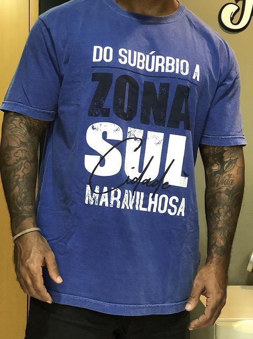CAMISETA DO SUBÚRBIO A ZONA SUL STONE