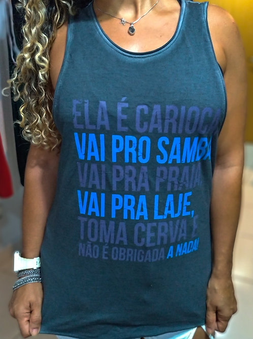 REGATA ELA É CARIOCA STONE