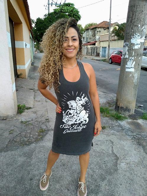 VESTIDO ALÇA SÃO JORGE GUERREIRO STONE