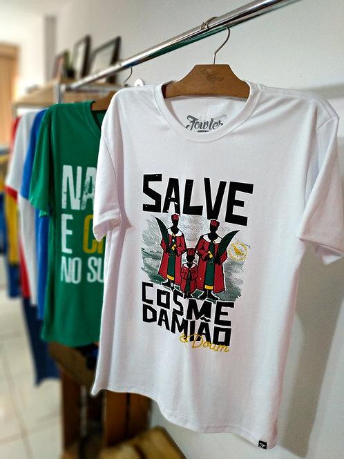 CAMISETA SALVE COSME DAMIÃO