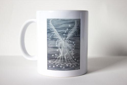 Grey Guardian Angel Mug