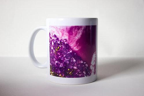 Magenta Crystal Mug