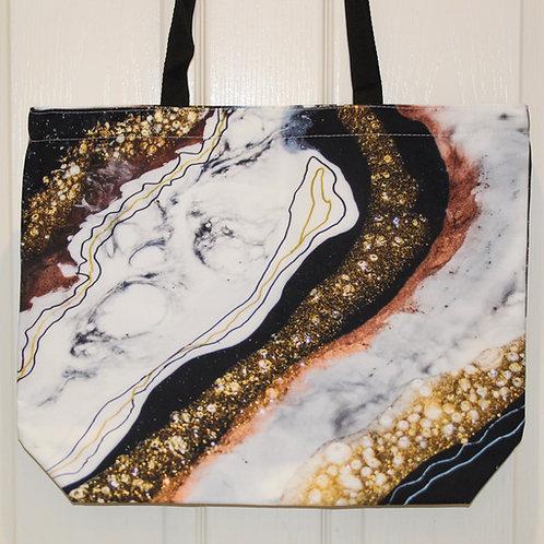 Black & White Jewel Bag