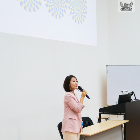 Career Talk by Ms Hur Eunmi