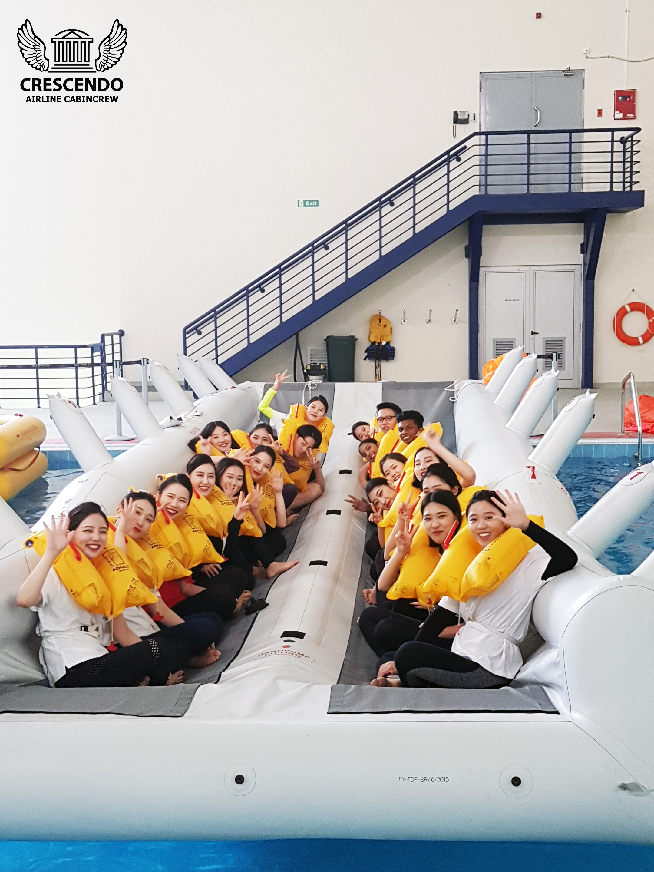 Etihad Flight College Trip