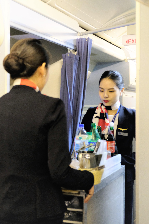 In-flight Service Training