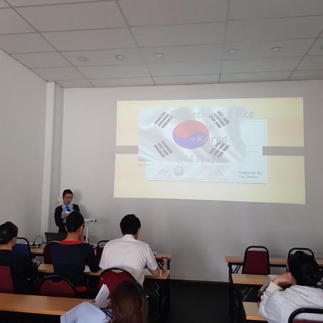 Korean Speaking Contest