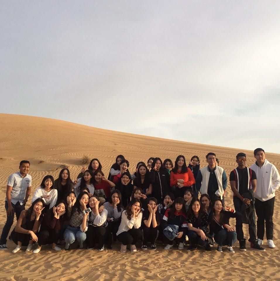 Dessert Tour at Abu Dhabi