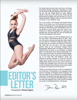 Editorial Letter