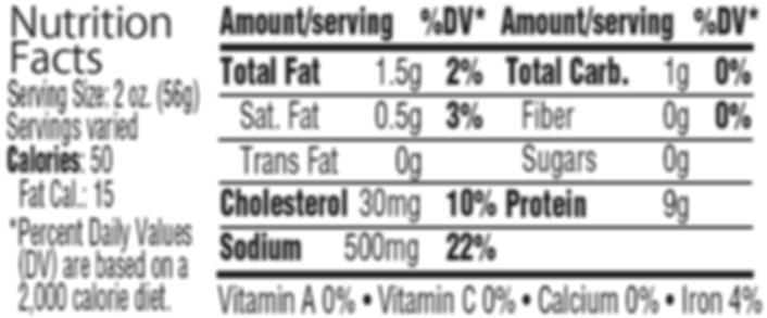 Nutrition Label Polish Ham.png