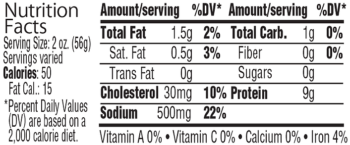 Nutrition Label Polish Ham.png