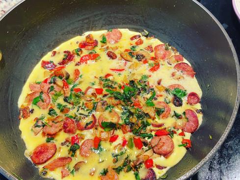 """Southwest """"Sante Fe Styled"""" Omelette"""