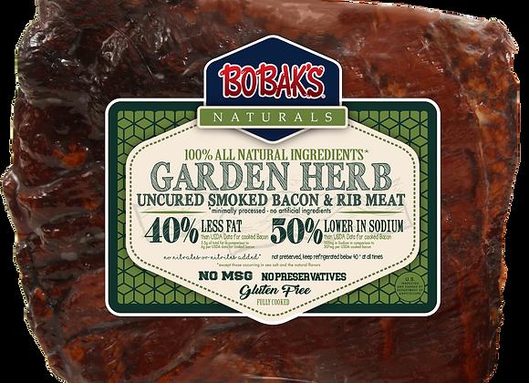 Garden Herb Oven Roasted Rib Bacon
