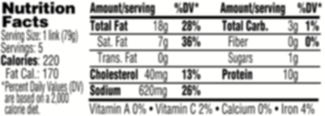Maxwell Nutrition Label.png