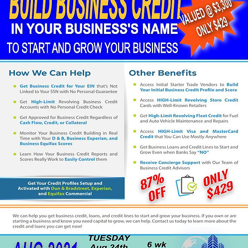 Business Credit Group Coaching (Aug)