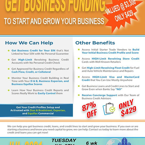 Business Credit Group Coaching