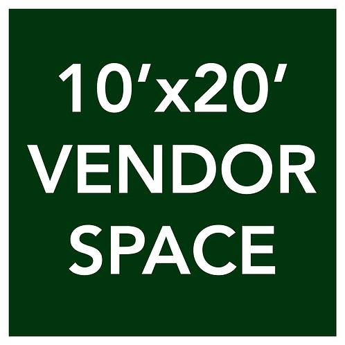 10'x20' Vendor Space