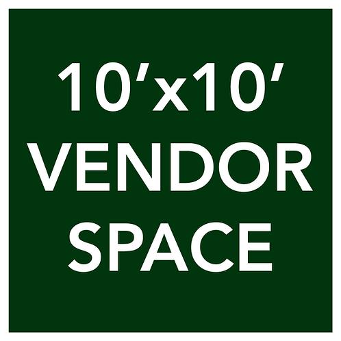 10'x10' Vendor Space